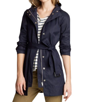 Matinee Trench by J. Crew