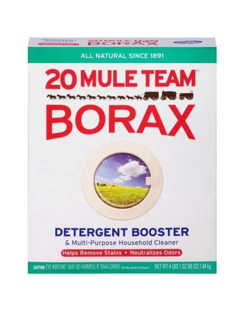 Cleaning with Borax