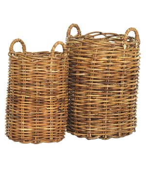 Mitchell Gold and Bob Williams Baguette baskets