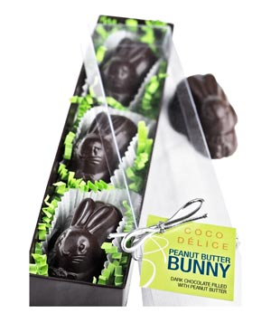 Coco Délice Peanut Butter Filled Bunnies