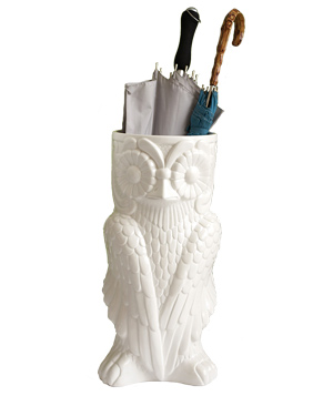 Owl Umbrella Stand by Two's Company