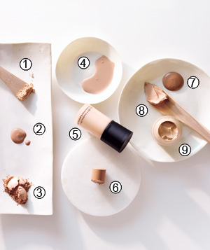 Foundation and cover-up makeup formulation for all skin types