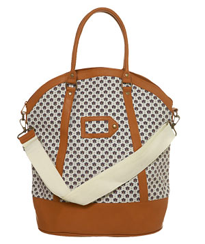 TopShop Bee Tall Oval Holdall Bag