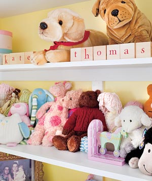 Baby nursery for Kate and Thomas