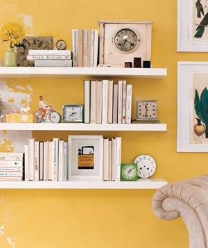 Clocks used as bookends
