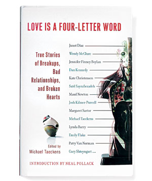 """""""Love is a four-letter word"""" edited by Michael Taeckens"""