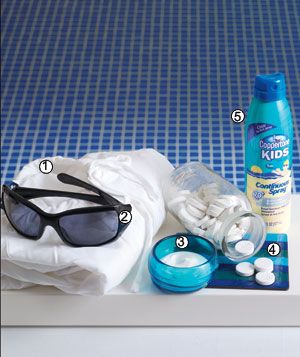 Skin care sun protection products for the body