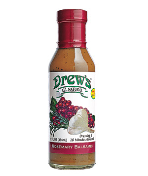Drew's rosemary balsamic dressing & 10 minute marinade