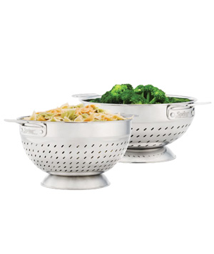 The Healthy Kitchen by Andrew Weil, M.D. colander