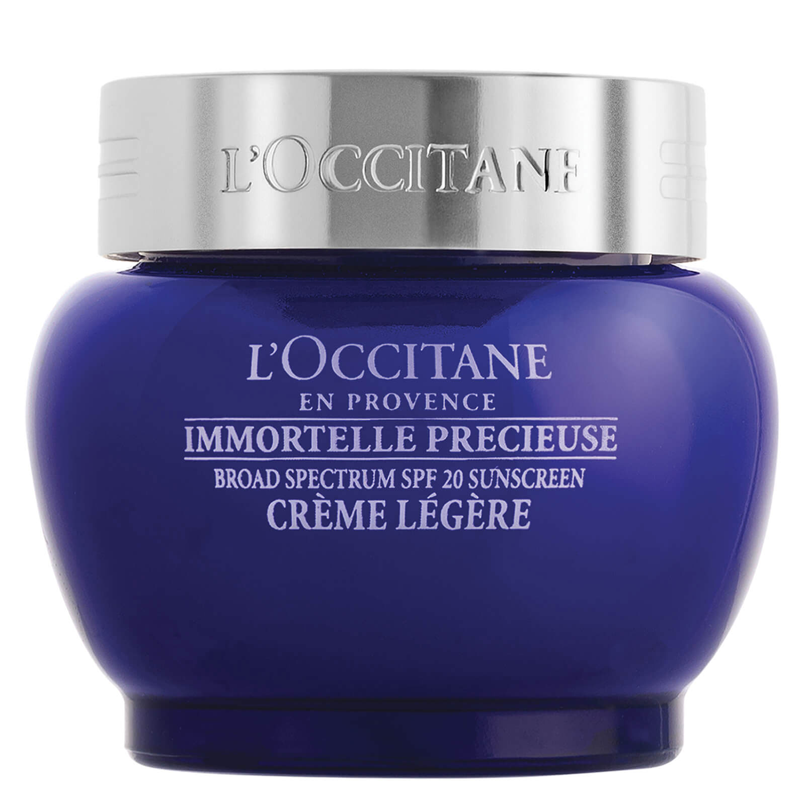 For Normal Skin: L'Occitane Immortelle Precious Light Cream SPF 20