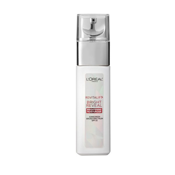 Budget Buy for Mature Skin: L'Oréal Paris Revitalift Bright Reveal Brightening Day Moisturizer SPF 30