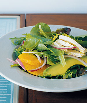 This refreshing salad is spiked with citrus.