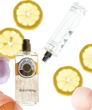 Light and citrusy fragrances