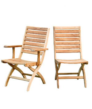 Lands' End Folding Side Chair