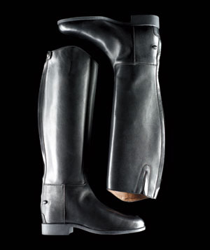 Ariat International black riding boots