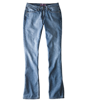 Little in the Middle Empowered jeans
