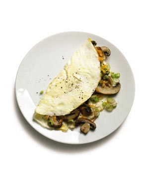 Mushroom and Egg White Omelet