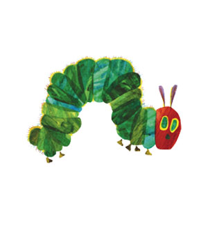 The Very Hungry Caterpillar, written and illustrated by Eric Carle