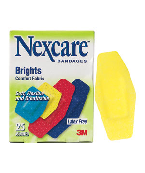 Nexcare Comfort Brights bandages