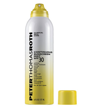 Peter Thomas Roth Continuous Mist Sunscreen SPF 30