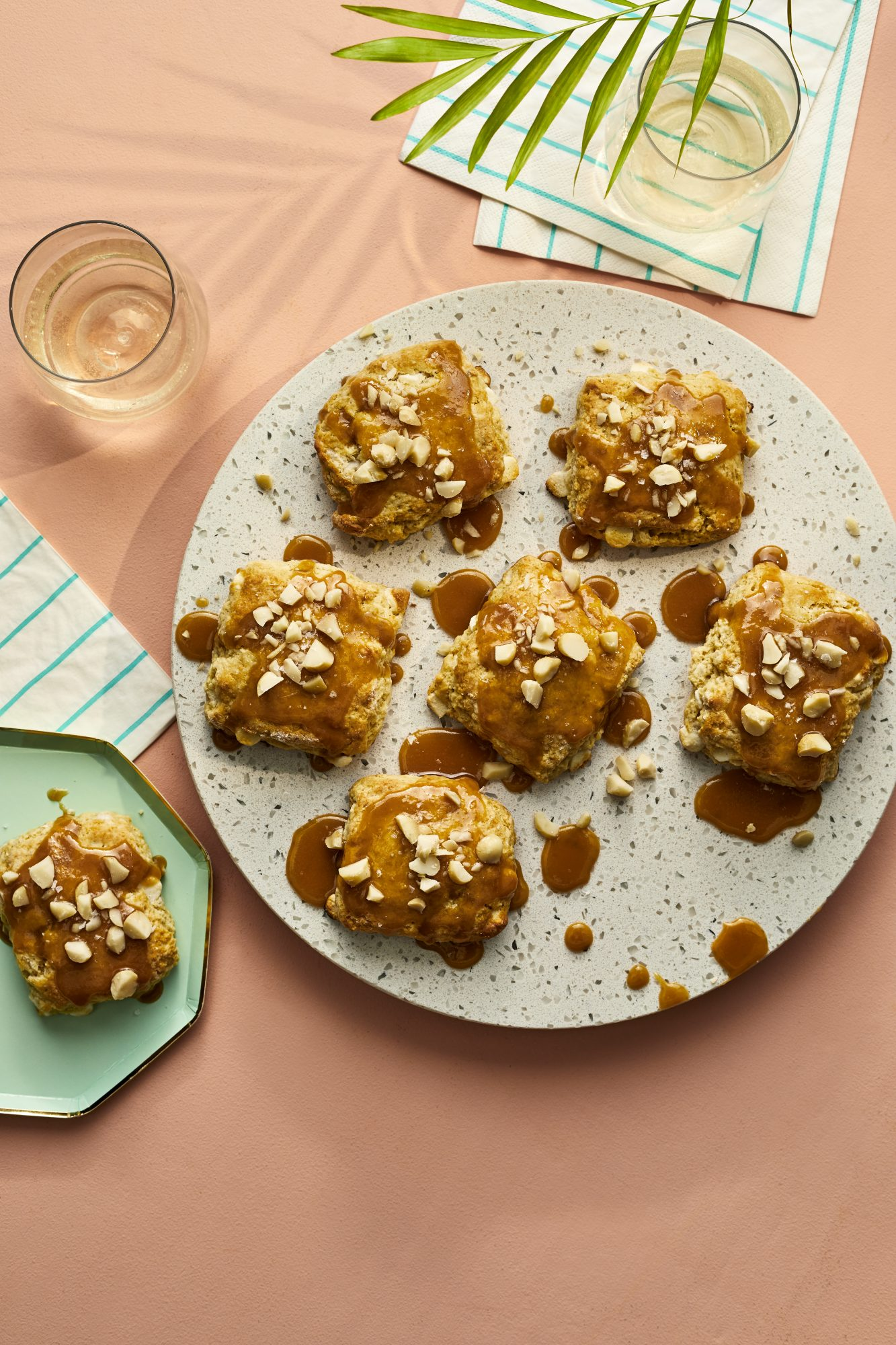 White Chocolate Macadamia Nut Scones