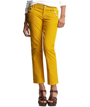 Gap Cropped Cords