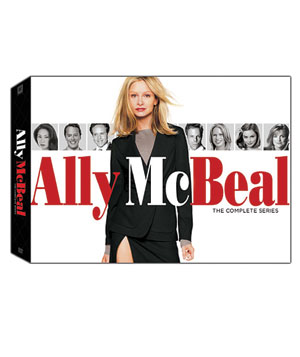 """""""Ally McBeal: The Complete Series"""" on DVD"""