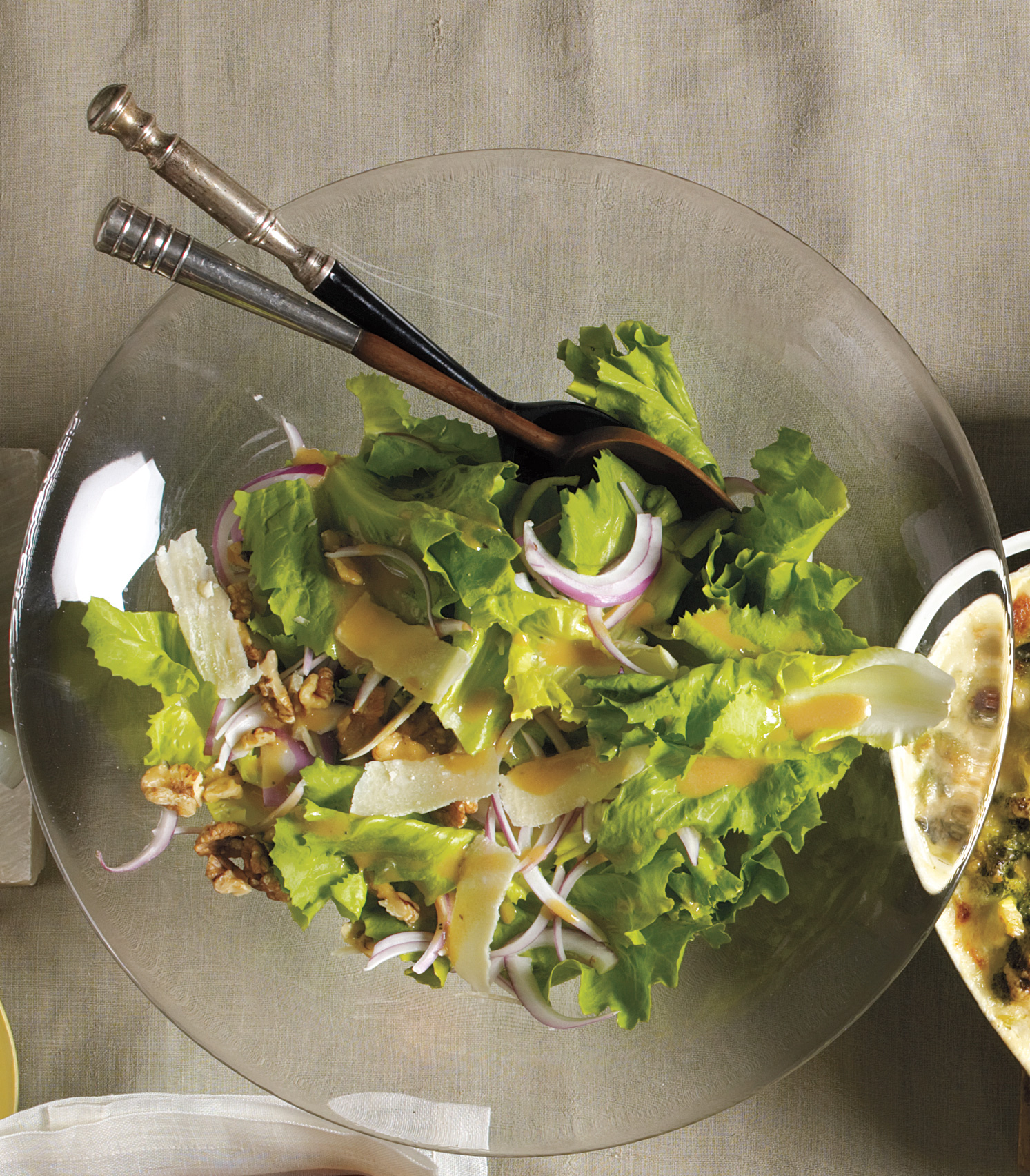 Escarole Salad With Walnuts and Parmesan