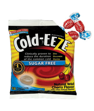 Cold-Eeze Sugar Free Zinc Lozenges