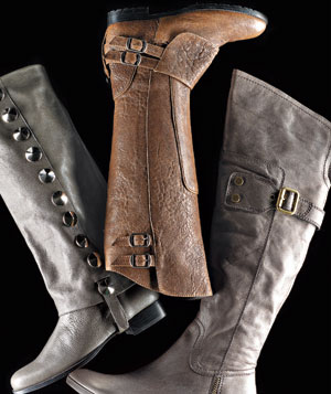 Riding boots from BE&D, Gryson, and Apepazza
