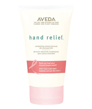 Aveda's Limited Edition Pink Ribbon Hand Relief