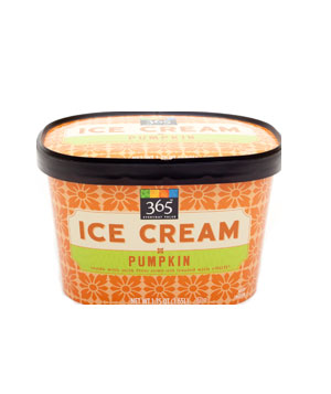 365 Everyday Value Pumpkin Ice Cream