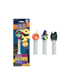 PEZ Halloween Candy & Dispenser