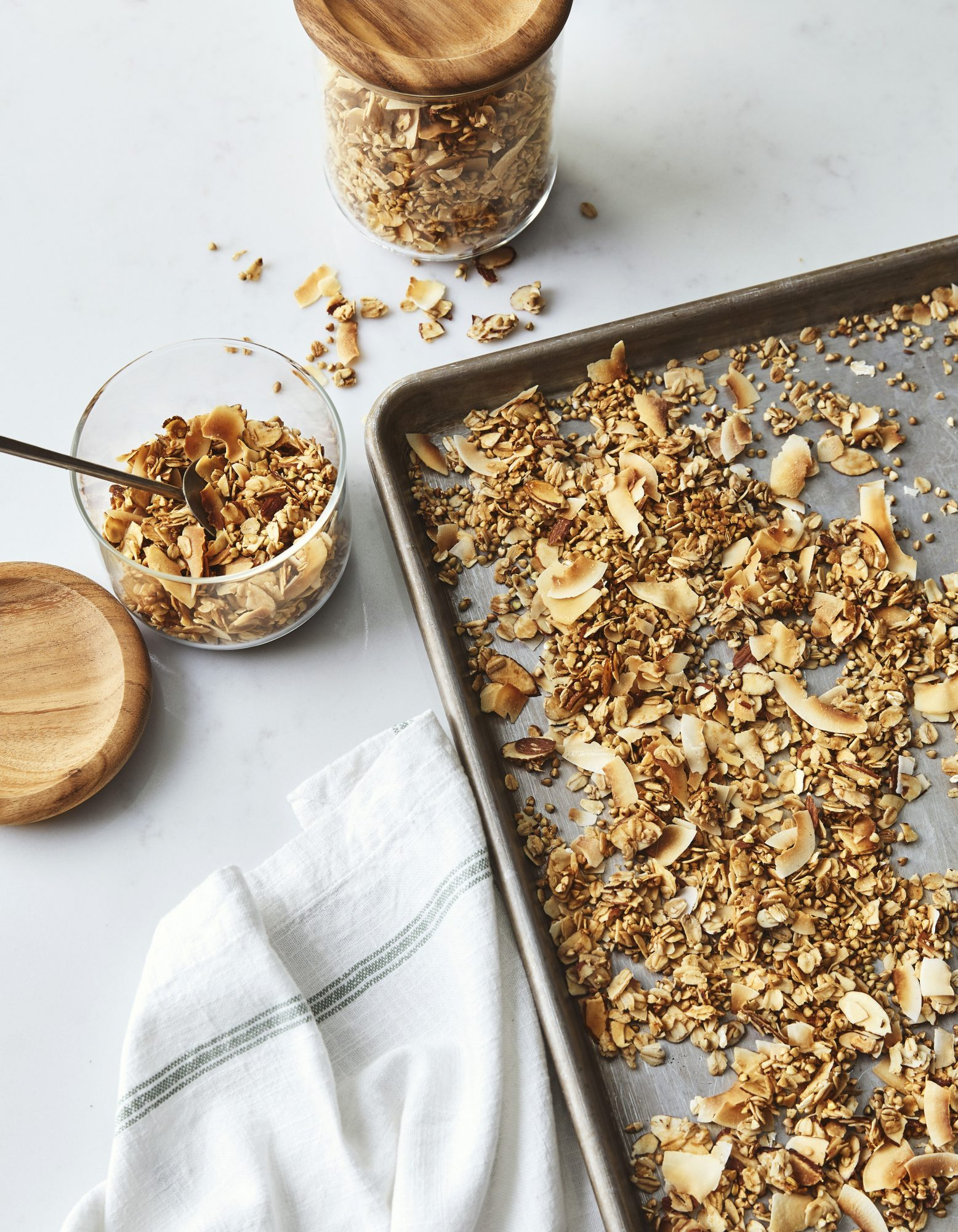 Buckwheat, Almond, and Coconut Granola