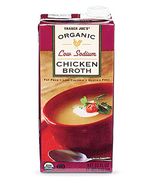Trader Joe's Organic Low-Sodium Chicken Broth