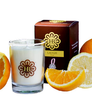 HollyBeth's LAUGH Citrus Candle