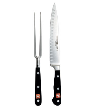 Wusthof Classic Two-Piece Hollow Ground Carving Set