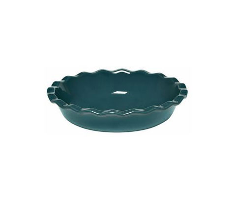 Emile Henry Pie Dish, Blue Flame