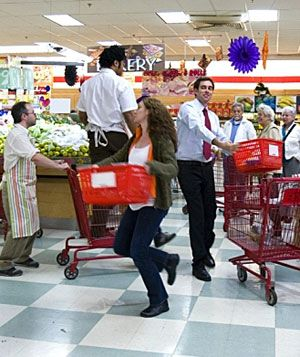 Grocery Store Musical still