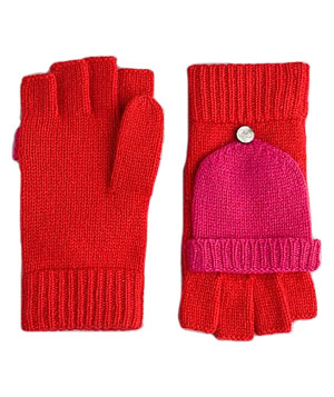 Cashmere Pop Top Glove by DKNY