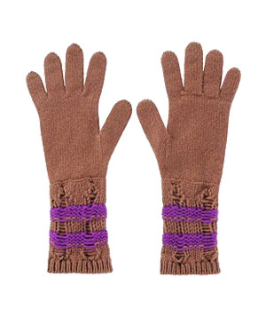 Cashmere Gloves by Missoni