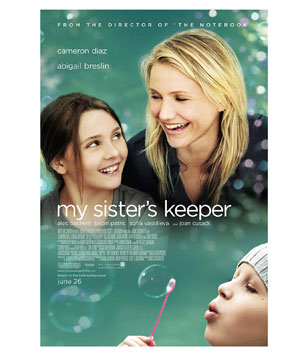 """""""My Sister's Keeper"""" DVD"""