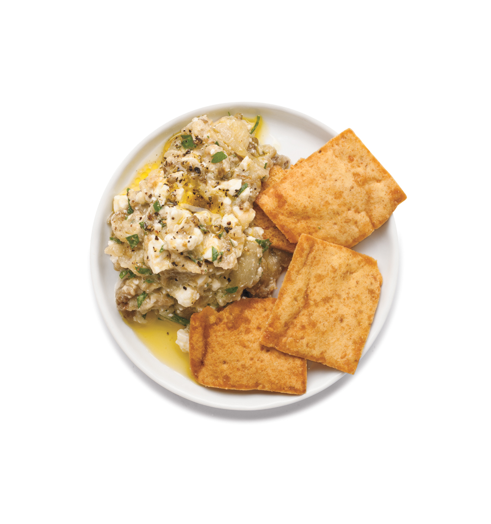 Creamy Eggplant and Feta Dip