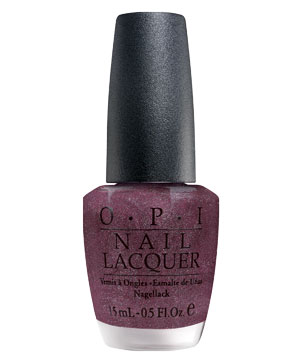 Suede by OPI Nail Lacquer in Lincoln Park After Dark Lacquer