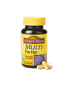 Nature Made Multi for Her vitamins