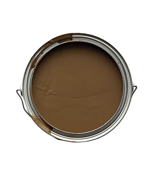 Paint from the Flax collection in Chocolate