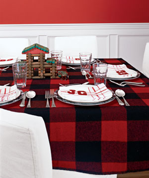 Family-friendly table setting