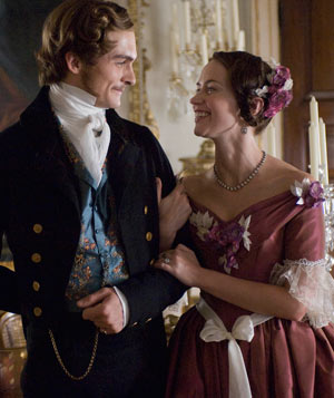 "See ""The Young Victoria"""