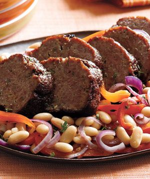 Balsamic-Glazed Lamb Meatloaf Recipe
