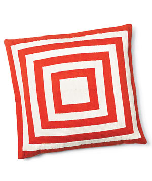 Double Concentric pillow by Jonathan Adler